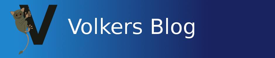 Volkers Blog